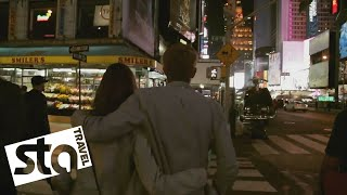 DISCOVER late night Times Square, New York City | STA Travel Uncover/Discover USA video