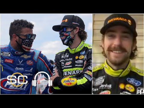 Ryan Blaney talks NASCAR's support for Bubba Wallace, photo-finish win at Talladega | SC with SVP