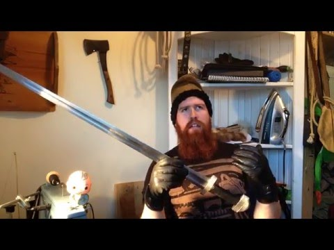 Review of Hanwei Tinker 10th Century Viking Sword