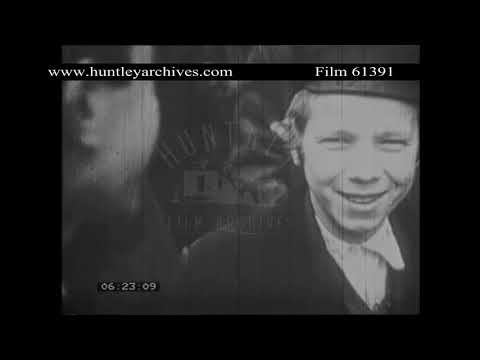 Poland in the 1930's.  Archive film 61391