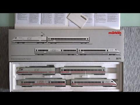 Märklin 36711 DB ICE 2 - UnBoxing e prime impressioni
