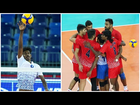 Never Give Up   Volleyball Team India   AVC   Best Volleyball Actions (HD)