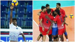 Never Give Up | Volleyball Team India | AVC | Best Volleyball Actions (HD)