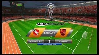 Independiente x Flamengo ↱[ Copa Sul-Americana Final 1ª Jogo ]↰ PES 2017