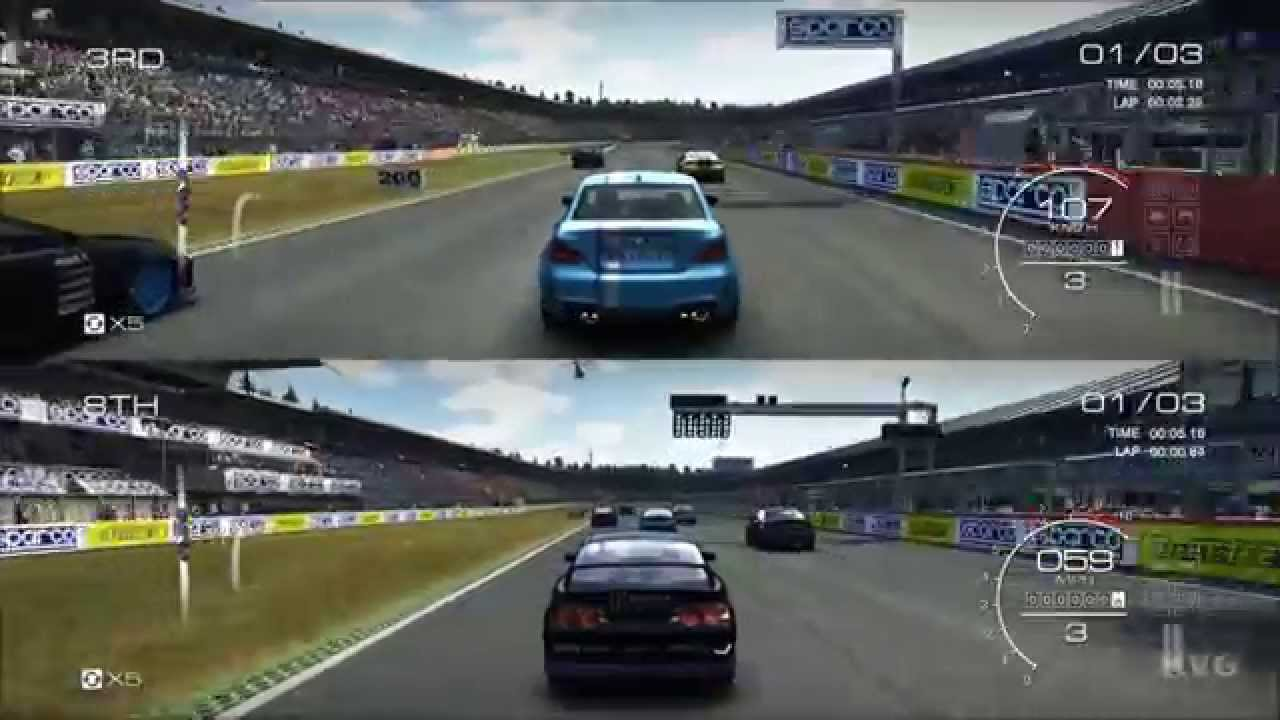 Is Project Cars  Player Split Screen