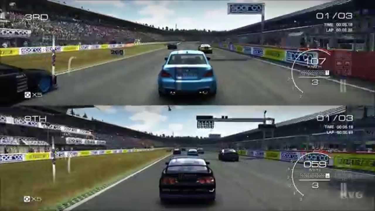 Car Games Xbox One Split Screen