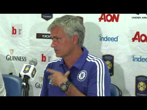 Jose Mourinho discusses RBNY's 4-2 victory over Chelsea Football Club