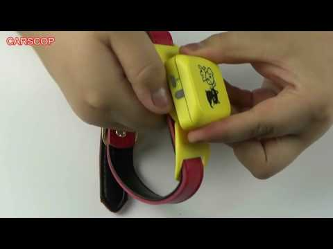 Pet/dog/cat GPS Tracker CCTR-623 Unboxing Video HD