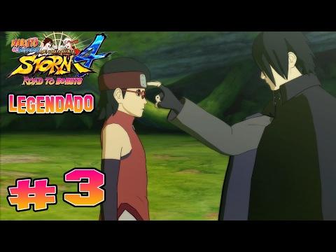 Road To Boruto #3 - O Treinamento do Sarada!! - Legendado Naruto Ninja Storm 4