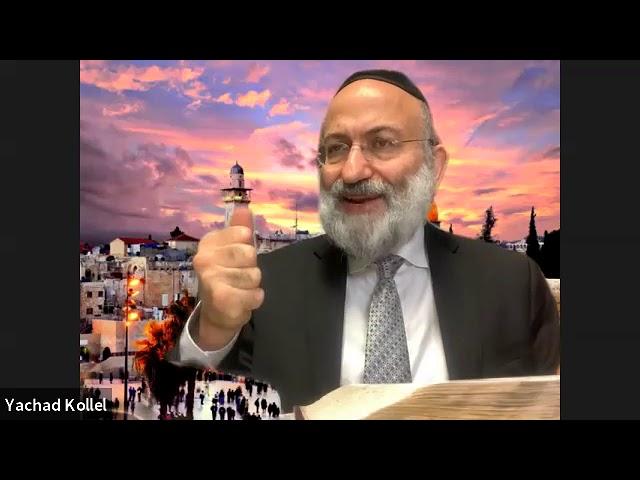 Mussar Lesson - Shavuot - R. Avraham Levychaim