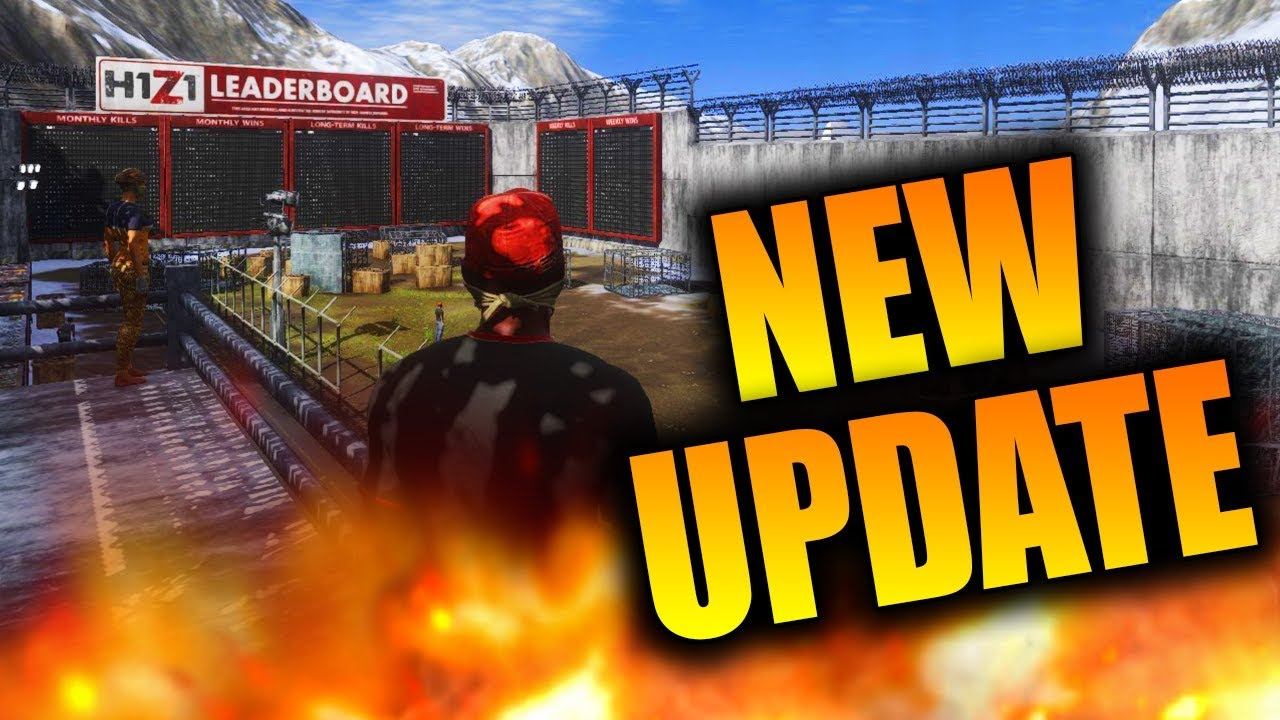 New H1Z1 Update! New Weapon Recoil, In Game Leaderboards ...