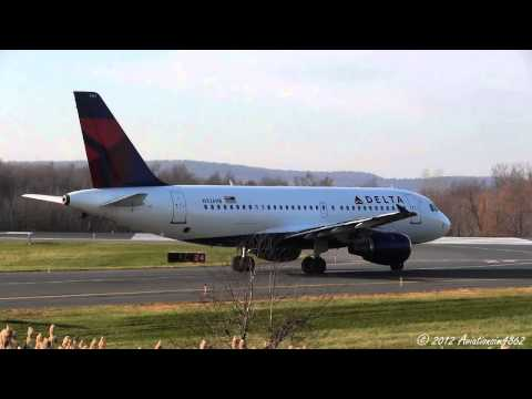 Bradley Airport Plane Spotting 11/23