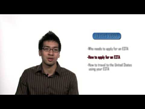 HOW TO APPLY FOR ESTA REGISTRATION TO THE USA