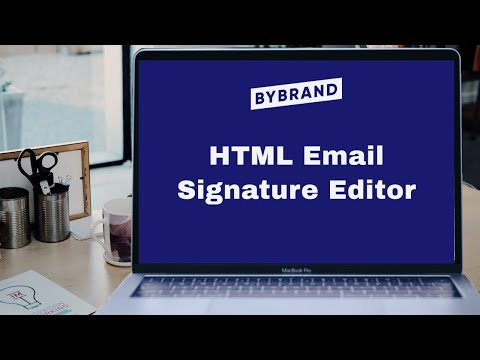 HTML Email Signature Editor - Preview