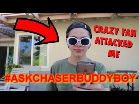 CRAZY FAN ATTACKED ME #ASKCHASER