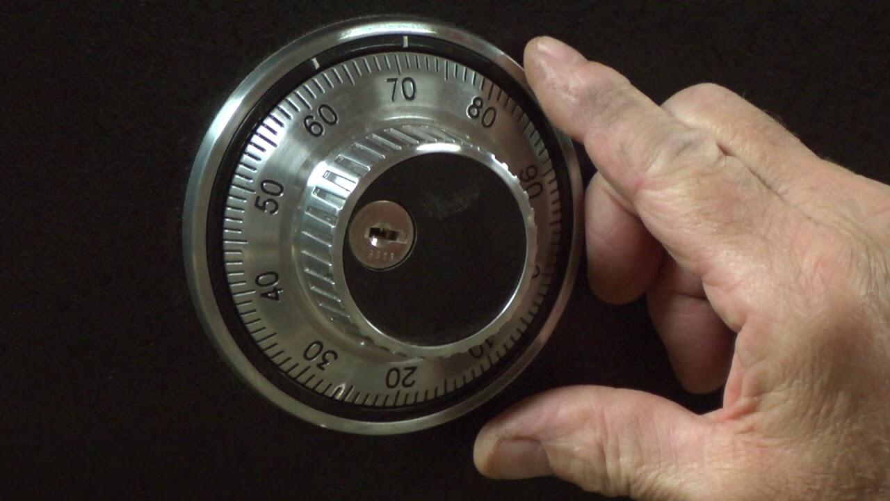 Combination Lock Opening Procedure
