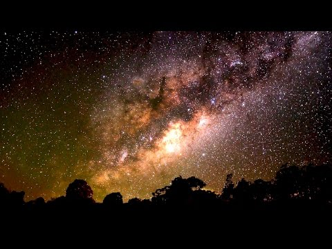 The Outback Sky - the Night Sky over the Australian Landscape