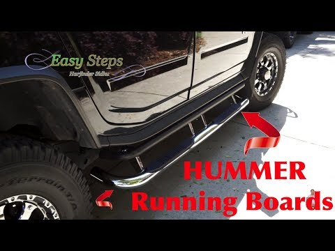 How To Install Running Boards on HUMMER Yourself (DIY) in Easy Steps