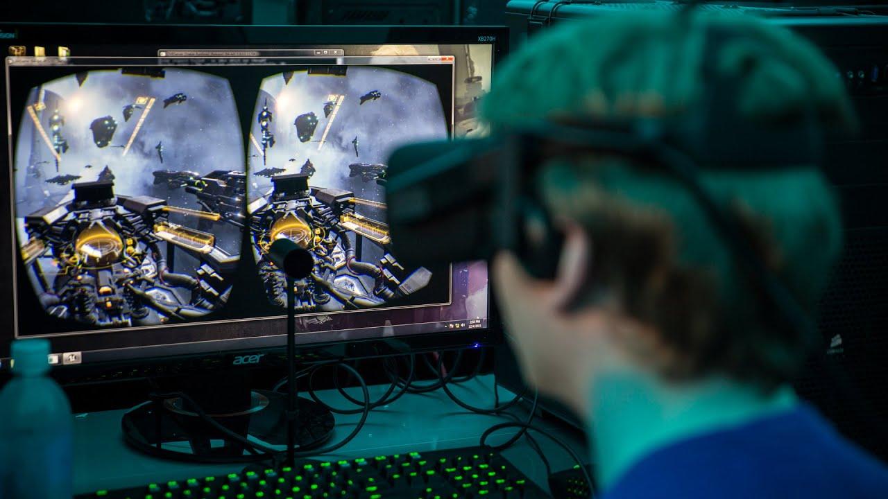 EVE: Valkyrie on Oculus Rift VR Playtest!