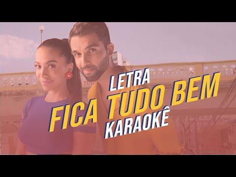 Fica Tudo Bem - Letra e Karaokê | SILVA e Anitta