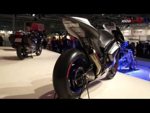 Yamaha M1 2013 - Intermot 2012
