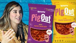 Daniella Monet on her new business: Pigless Bacon