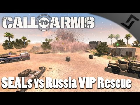 SEALs vs Russia VIP Rescue - Call to Arms - The Apex Mod Gameplay