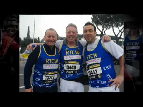 Round Table Childrens Wish Rome Marathon 2010 - AztecMedia Yeovil Somerset