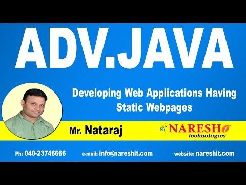 developing-web-applications-having-static-webpages-|-advanced-java-tutorial-|-mr.-nataraj