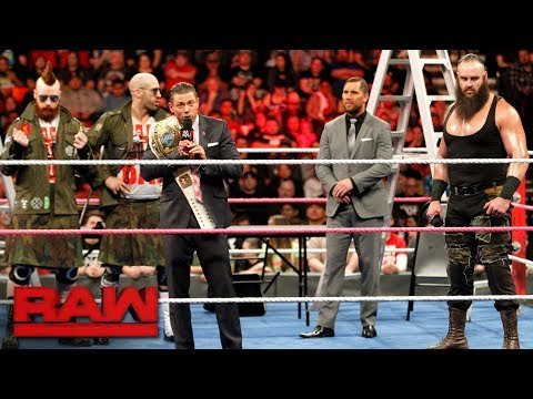 Thumbnail: Kurt Angle raises the stakes for Raw's Steel Cage Match main event: Raw, Oct. 16, 2017