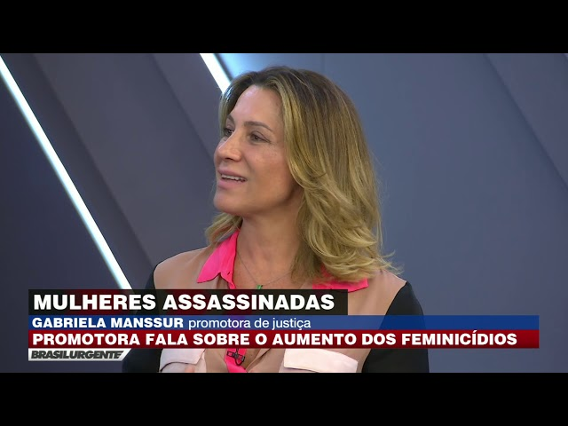 Datena entrevista a promotora de Justiça Gabriela Manssur