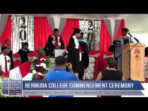 Part II   Bermuda College Graduation, May 16 2019