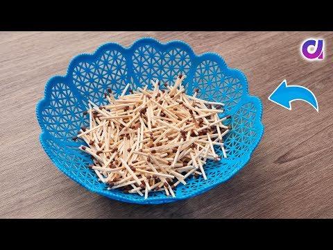 Matchstick Art and Craft Ideas   Waste Material Craft Idea   Artkala