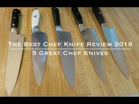 The Best Chef Knife Review 2018 - Living Better TV with Plant Based Home  Chef Jeremiah