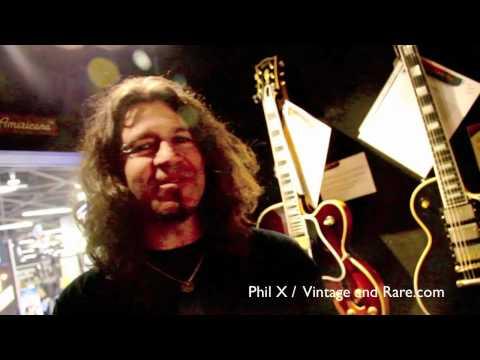 Phil X / Bon Jovi - Richie Sambora touring / Fretted Americana / Vintage & RareTV