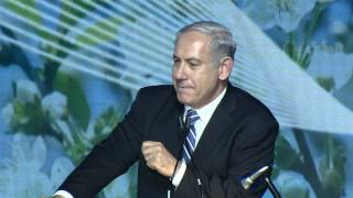 PM Netanyahu Greets President Shimon Peres on his 90th Birthday (Full)
