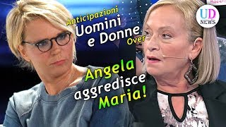 Anticipazioni Uomini e Donne Over: Angela aggredisce Maria De Filippi!