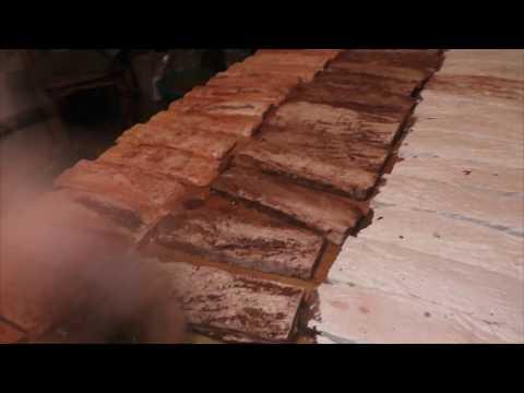Покраска гипсовой плитки под старый кирпич, своими руками