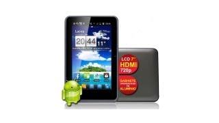 Tablet TCTB 7104, Tela 7, Capacitativo, HDMI, 4GB, Processador Cortex A8