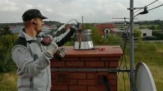 Jak samemu wyczyścić komin, czyszczenie komina mechaniczne