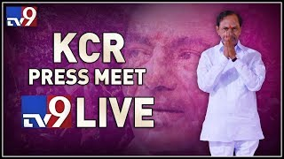 KCR Press Meet LIVE || Telangana Next CM || TS Election Results 2018 - TV9