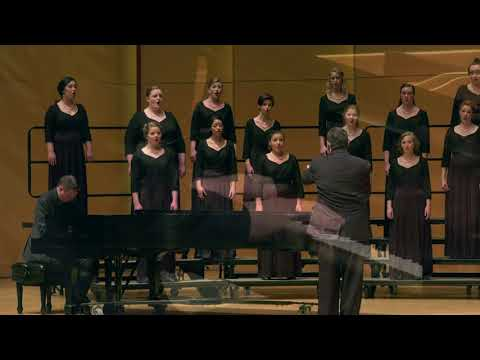 "CWU Chamber Choir/Gjeilo: ""Serenity"" with piano improv"