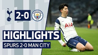 HIGHLIGHTS | SPURS 2-0 MAN CITY | Son and Lo Celso goals beat City!