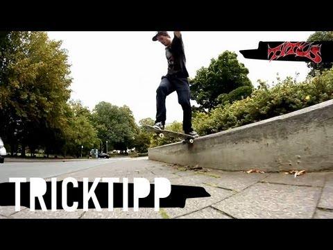 How to Backside Tailslide - einfach und schnell Skateboard Tricks lernen (deutsch/german)