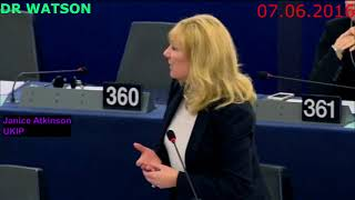 Janice Atkinson Exposes Real EU Migration Policy & MEPs Attempts to Conceal it from public 12.4.2016