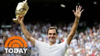 Roger Federer Talks About Wimbledon Win With Super Fan Savannah Guthrie | TODAY