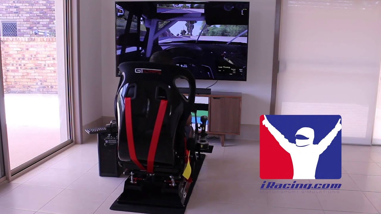 Flight Simulator Chair Motion Back Support For Office Chairs Australia Next Level Racing Cockpit Iracing