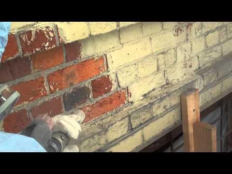 видео: очистка кирпича