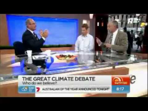 Lord Monckton vs Global Warming Fraudster, Ben McNeil