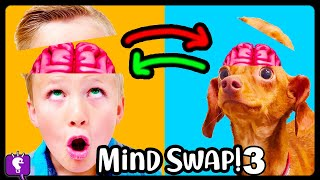 BRAIN SWAP 3! HobbyBear Trades Minds with HobbyFlappy - Adventure by HobbyKidsTV